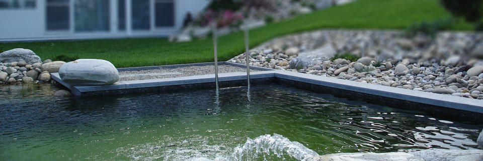 Wasser im Garten - Natürliche Ruhe und Entspannung